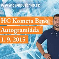 Autogramiáda HC Komety Brno v Campus Square