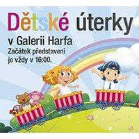 Dětské úterky v Galerie Harfu těší i v říjnu