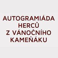 Autogramiáda herců Vánočního Kameňáku v City Parku Jihlava