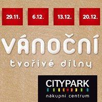 Vánoční dílny v City Parku Jihlava