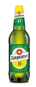 Zlatopramen 11°, světlé výčepní pivo (PET)