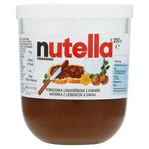 Nutella Ferrero Pomazánka lískooříšková s kakaem 200g