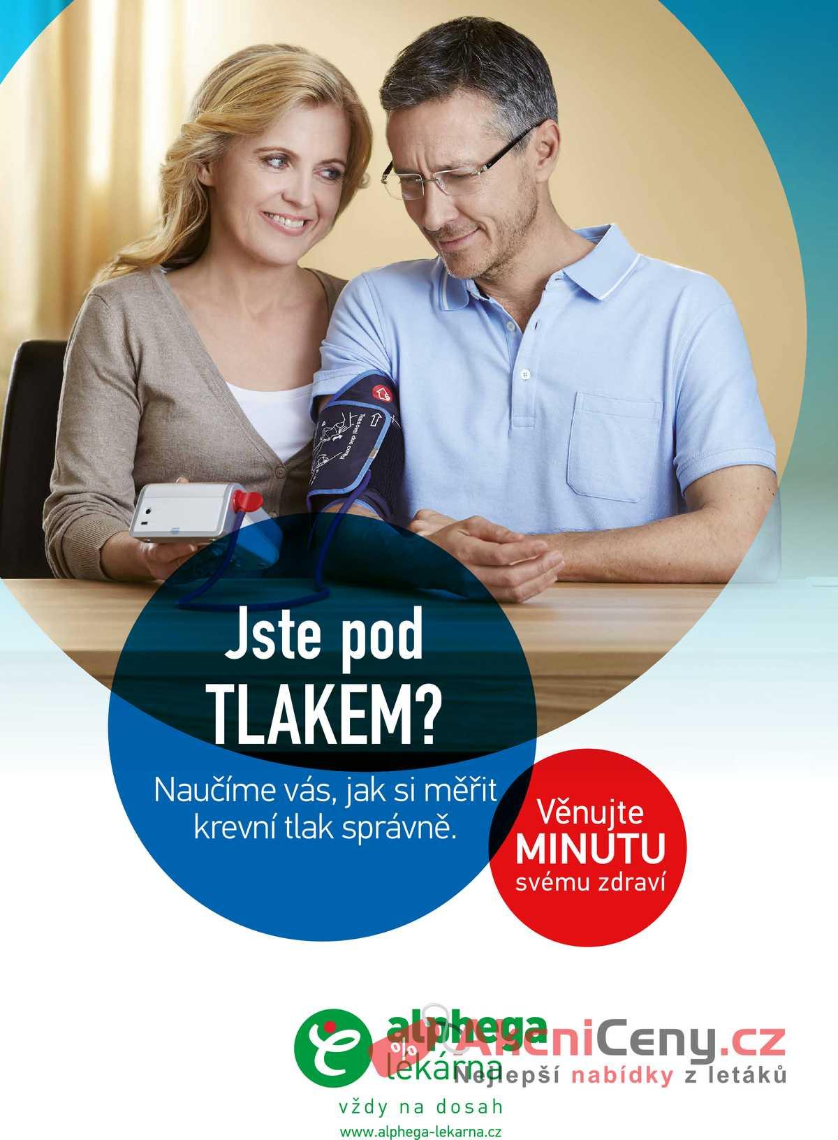 Leták Alphega Lékárna - Alphega Lékárna 1.10. - 31.12. - strana 1
