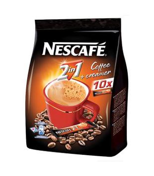 instantní káva Nescafé 2v1 (10 kusů)