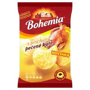 Bohemia Chips s příchutí pečené kuře 77g
