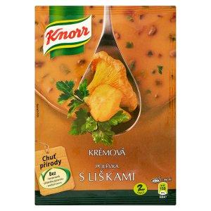 Knorr Polévka s liškami krémová 63g