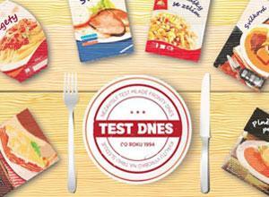 Test hotových jídel