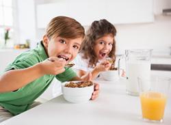 Test dětských cereálií
