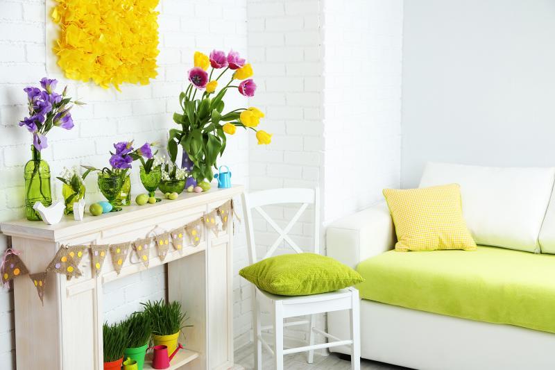 INSPIRACE: Jarní výzdoba bytu