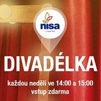 Listopadová dětská divadelní představení v Nisa Liberec