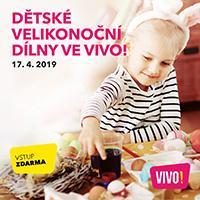 Dětské velikonoční dílny v OC VIVO! Hostivař