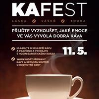 KAFEst v OC Fontána přinese ochutnávky kávy