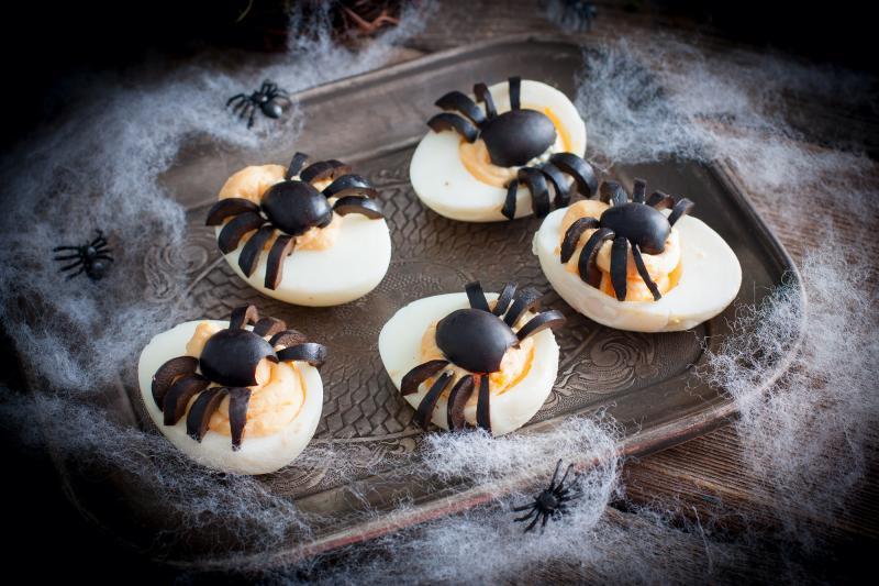 Dobroty na halloweenský večírek