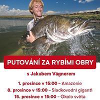 Jakub Vágner a OC Šestka vás vezmou na ryby