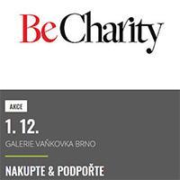Be Charity zavítá i do OC Galerie Vaňkovka