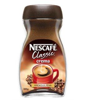 instantní káva Nescafé Classic Crema