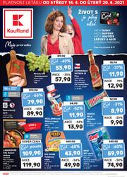 Leták Kaufland 14.4. - 20.4. - Kaufland - Ústí nad Labem (Všebořická)