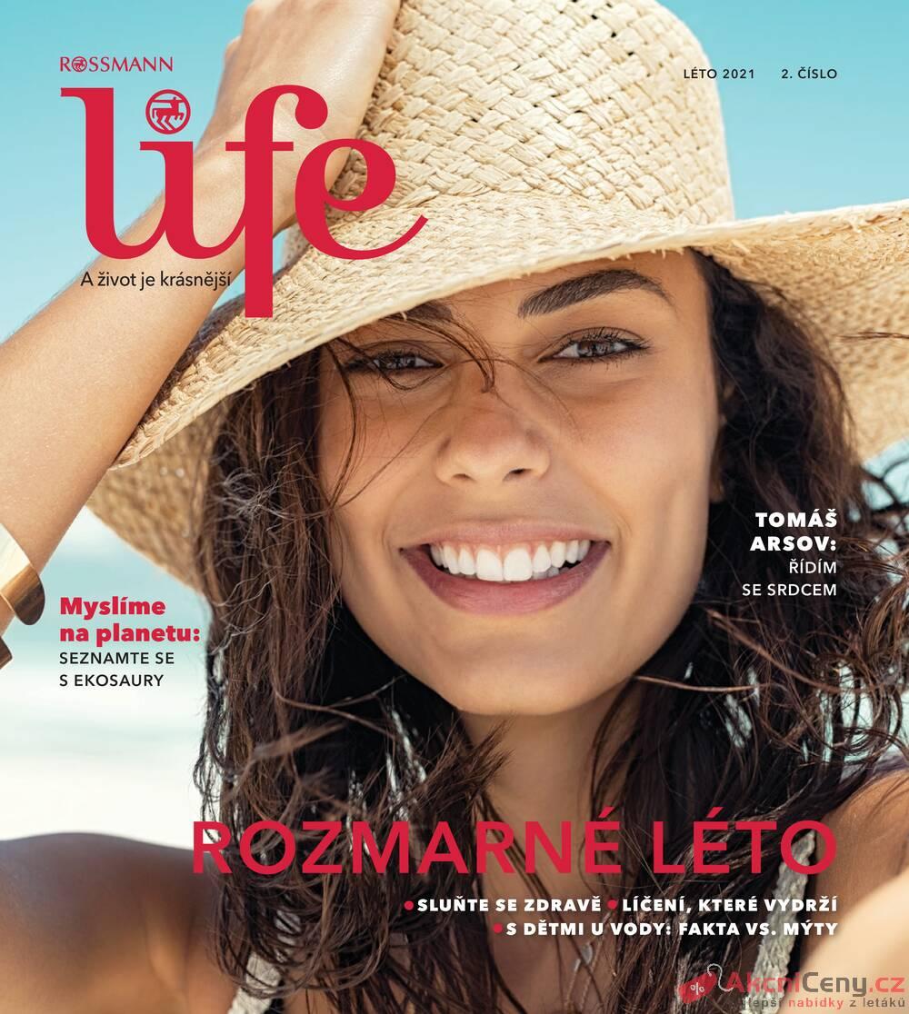 Leták ROSSMANN - ROSSMANN Magazín 21.5. - 31.8. - strana 1