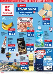 Leták Kaufland 21.7. - 27.7. - Kaufland - Jablonec nad Nisou (U Kostela)