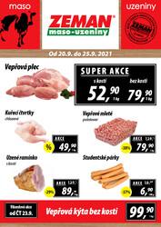 ZEMAN maso-uzeniny : 2 letáky