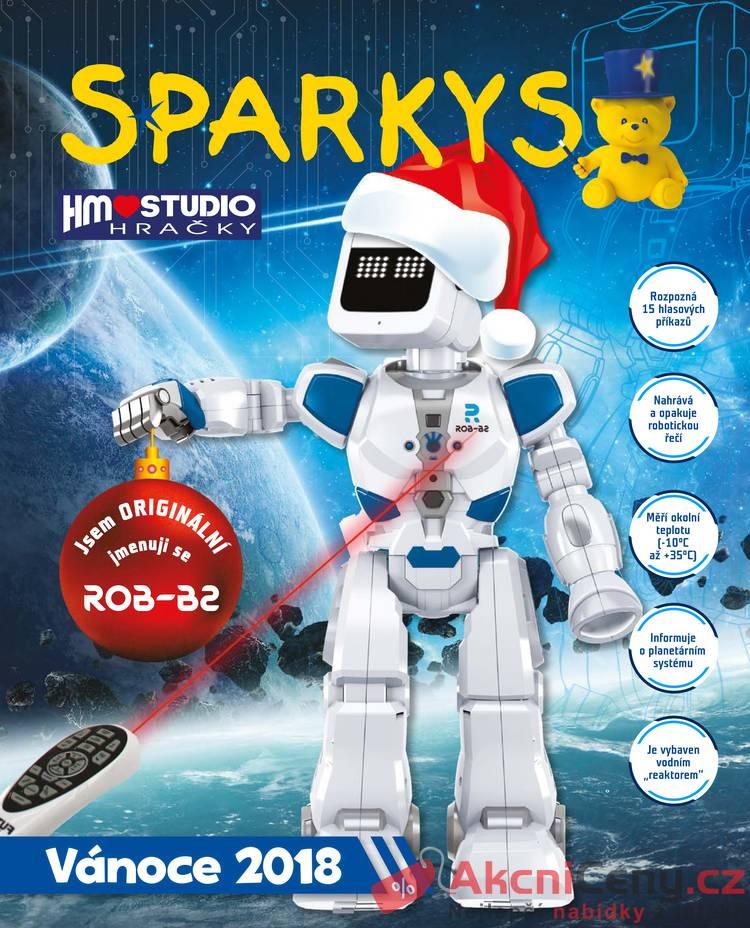 Leták Sparkys - Sparkys 12.10. - 31.12. - strana 1