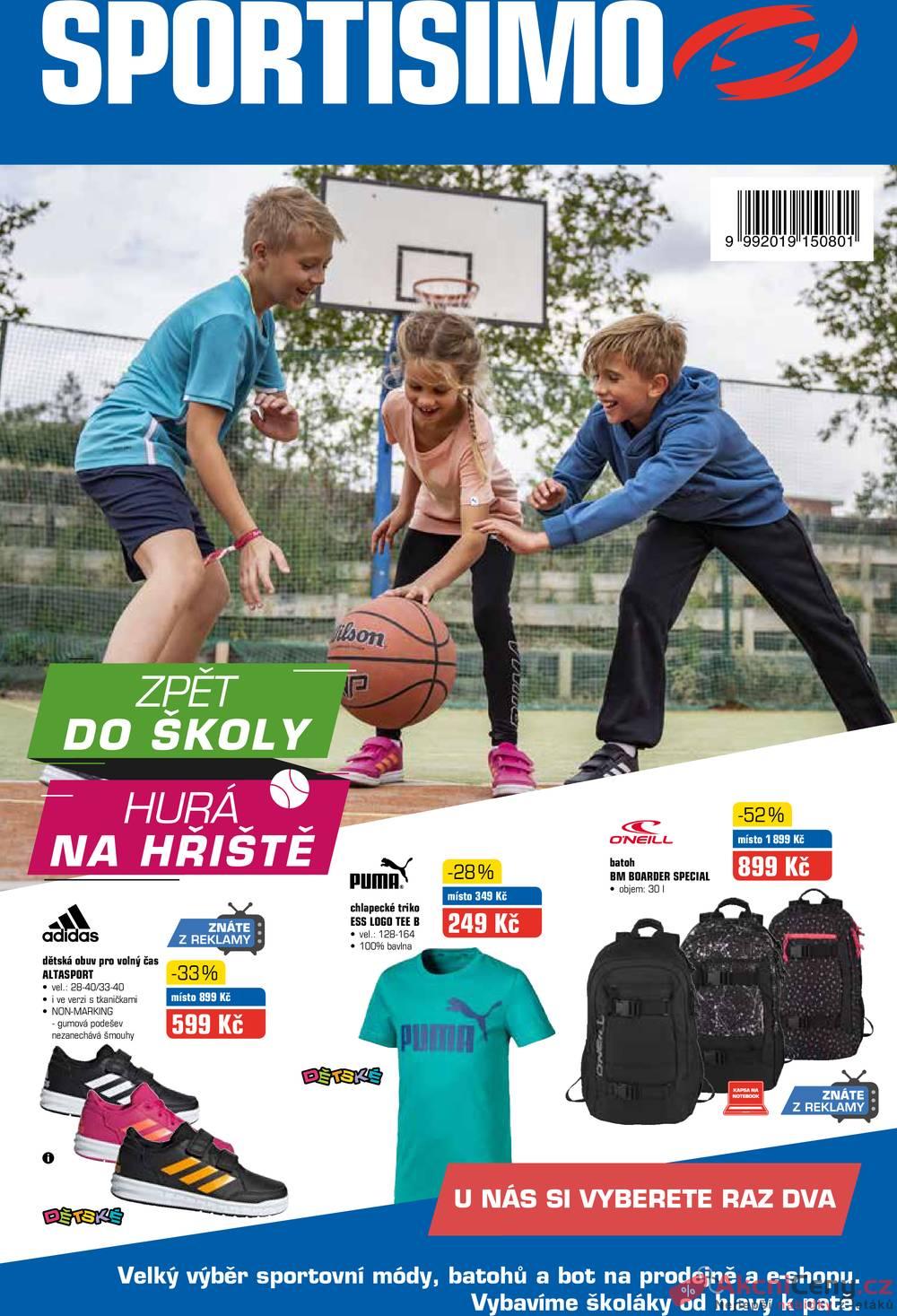Leták Sportisimo - Sportisimo od 15.8. do 26.8.2019 - strana 1