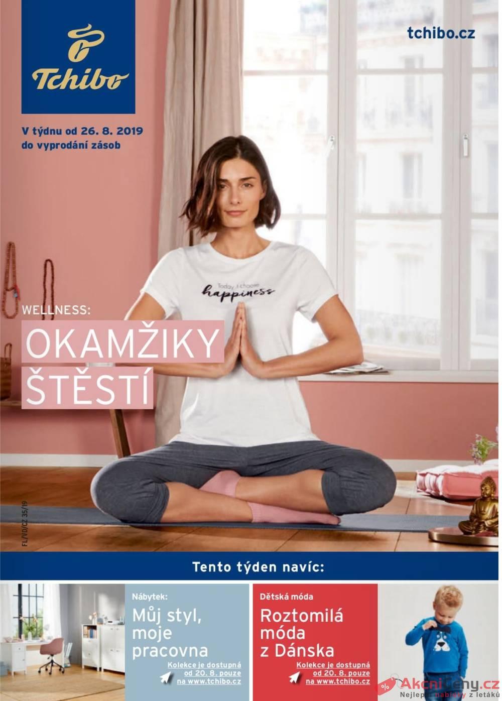 Leták Tchibo - Tchibo magazín 27.8. - 8.10. - strana 1