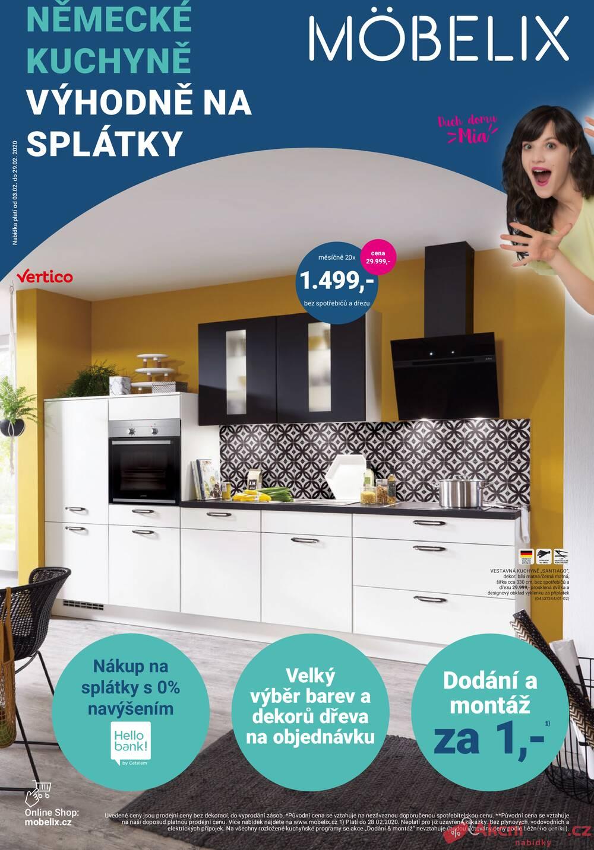 Leták Möbelix - Möbelix od 3.2. do 29.2.2020 - strana 1