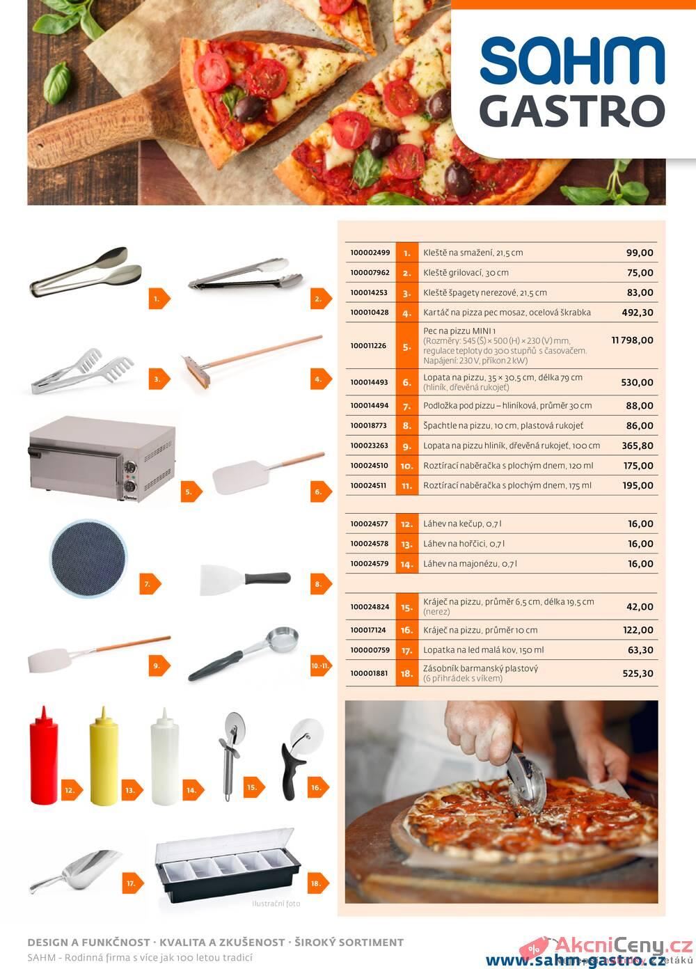 Leták Sahm Gastro - Sahm Gastro od 20.5. do 20.6.2020 - strana 1