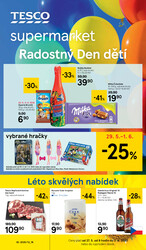 Leták Tesco supermarkety od 27.5. do 2.6.2020