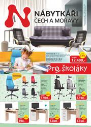 leták Nábytkáři Čech a Moravy