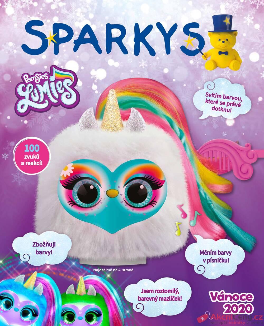 Leták Sparkys - Sparkys od 7.10. do 31.12.2020 - strana 1