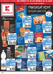 Leták Kaufland 21.10. - 25.10. - Kaufland - Jindřichův Hradec