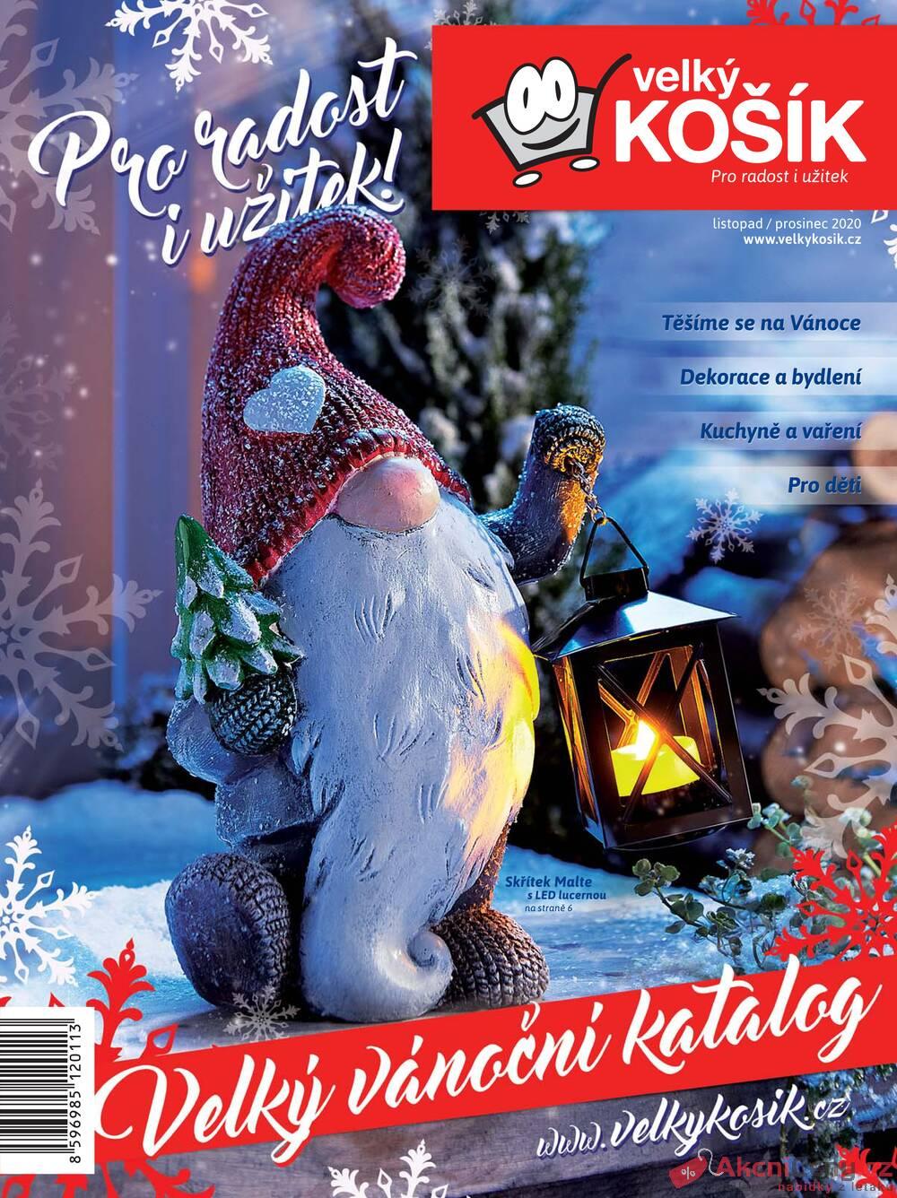 Leták Velký Košík - Velký Košík od 1.11. do 31.12.2020 - strana 1