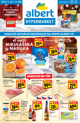 Leták Albert  Hypermarket od 25.11. do 1.12.2020