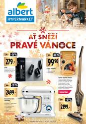 Leták Albert  Hypermarket katalog Vánoce od 2.12. do 27.12.2020