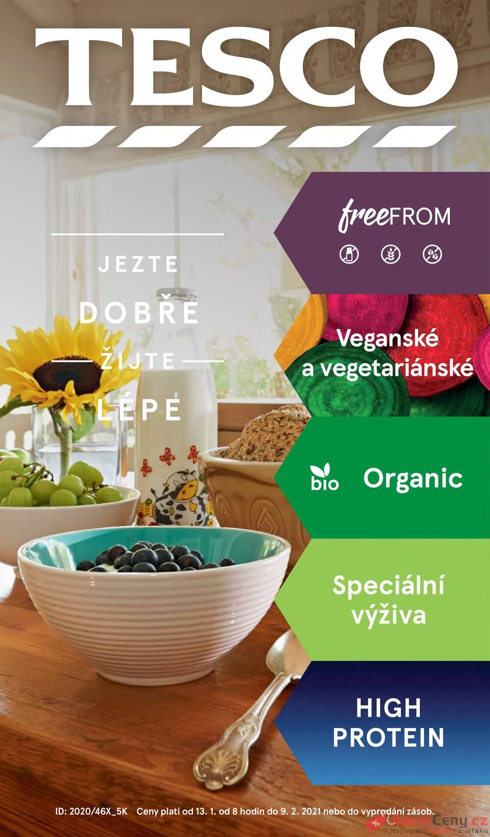 Leták Tesco - Tesco malé hypermarkety speciál od 13.1. do 9.2.2021 - strana 1