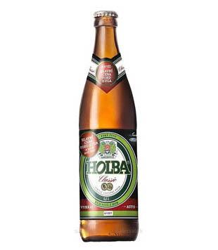 Holba Classic, světlé výčepní pivo 0,5l