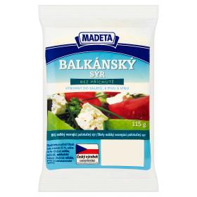 Madeta Balkánský sýr 115g, vybrané druhy