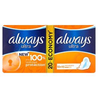 Always Ultra hygienické vložky (12-24 ks), vybrané druhy