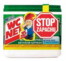 WC NET aktivátor septiků