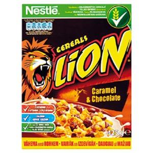 Nestlé cereálie Nestlé Lion