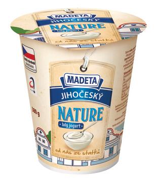 Jihočeský jogurt Nature, bílý, 3 %