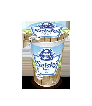 Selský bílý jogurt