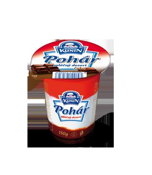 Kunín Pohár mléčný dezert 150g, vybrané druhy