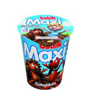 Bobík Maxi smetanový krém 140g, vybrané druhy