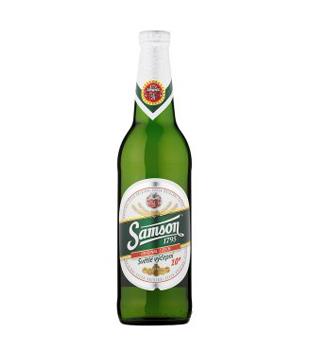 světlé výčepní pivo Samson