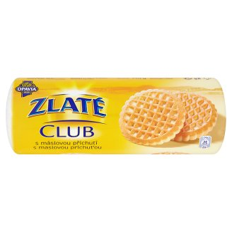 Opavia Zlaté Club sušenky 140g