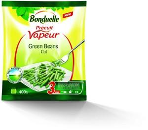 Bonduelle Vapeur fazolové lusky jemné hluboce zmrazené, vybrané druhy