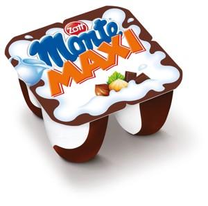 Mléčný dezert Monte 4x100g